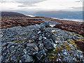 NH5829 : Cairn on Tom Bailgeann by valenta