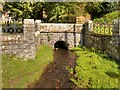 SO0571 : Bridge over Cwm Poeth Brook at Abbeycwmhir by David Dixon
