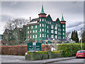 SO0661 : Llandrindod Wells, Metropole Hotel and Spa (rear) by David Dixon