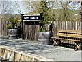 SN6479 : Capel Bangor Railway Station by David Dixon