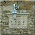 SK9200 : Datestone on former coach house, Church Lane by Alan Murray-Rust