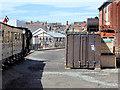 SN5881 : Vale of Rheidol Railway Approaching Aberystwyth Station by David Dixon