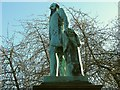 SE2934 : Statue of Sir Peter Fairbairn, Woodhouse Square by Stephen Craven