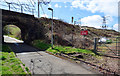 NS2475 : Site of Ravenscraig railway station by Thomas Nugent