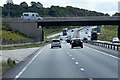 SK7173 : Southbound A1, Bridge at Markham Moor Service Area by David Dixon