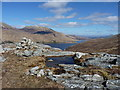 NH0101 : Loch Quoich and the East Glen Quoich Forest by Richard Law