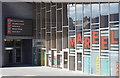 HU4741 : Front entrance of the Mareel, Lerwick : Week 17