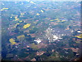 SP2905 : Oxfordshire fieldscape with airfield by M J Richardson