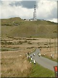 SO5976 : The road to Titterstone Clee by Alan Murray-Rust