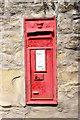 SJ1382 : Victorian Post Box at Ffynnongroyw by Jeff Buck