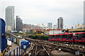 TQ3780 : Docklands Light Railway near Westferry by Oast House Archive