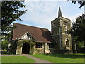 TQ4251 : St Andrew's Church, Limpsfield Chart by Richard Rogerson