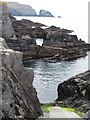 V7326 : Slipway and cove at Oughtminnee by Gordon Hatton