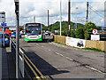 SM9703 : A TrawsCymru bus at Carmarthen railway station by John Lucas