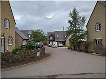 ST7156 : New houses at Shoscombe Vale by Rob Purvis