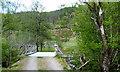 NM9681 : Wauchan bridge over Fionn Lighe by Phillip Williams