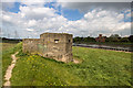 SJ3169 : North Wales WWII defences: Queensferry, River Dee - pillbox SJ3139 6909  (3) by Mike Searle