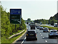 SU2813 : Northbound A31 near the Start of the M27 by David Dixon