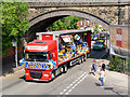 SD7807 : Spring Lane Bridge, Radcliffe Carnival by David Dixon