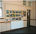 TG2812 : Holy Trinity church - RAF Rackheath museum room by Evelyn Simak