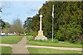 TL0249 : Biddenham War Memorial by N Chadwick