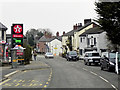 SJ5562 : The Southern End of the High Street at Tarporley by David Dixon