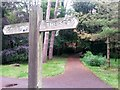 SZ0791 : Bournemouth: footpath B02 from the Central Gardens by Chris Downer
