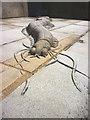 SD4364 : Sand worm sculpture, Morecambe promenade : Week 24