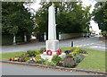 SP8526 : War memorial in Stewkley by Mat Fascione
