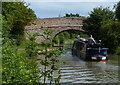 SP9027 : Narrowboat approaching Broad Oak Bridge No 109 by Mat Fascione