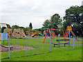SU9892 : Play area, Chalfont St. Giles by Robin Webster