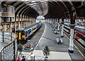 SE5951 : York Railway Station, Yorkshire by Christine Matthews