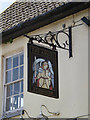 TM1246 : The Angel Inn Public House sign by Adrian Cable