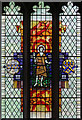 TL0221 : St Peter, Dunstable Priory - Stained glass window : Week 24