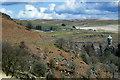SN8968 : Elan Valley, View towards Craig Goch Dam and Valve Tower by David Dixon
