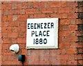 SJ9497 : Ebenezer Place 1880 by Gerald England