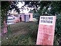 SZ0795 : East Howe: referendum polling station : Week 25
