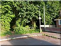 SZ0796 : Kinson: footpath E47 from Wicket Road by Chris Downer