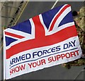 TA3108 : Armed Forces Day flag by Steve  Fareham