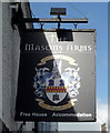 NT8947 : Sign for the Masons Arms, Norham by JThomas