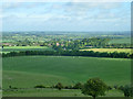 SP9514 : View north-west from Pitstone Hill by Robin Webster