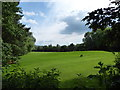 TL1597 : A golf course glimpsed from The Hereward Way by Basher Eyre
