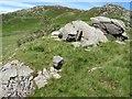 SH7114 : Erratic boulders by Jonathan Wilkins