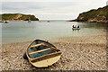 SY8279 : Lulworth Cove by Richard Croft