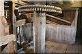 SP8100 : Lacey Green Mill - wire machine and sack hoist by Chris Allen