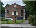 TQ3482 : St Matthew's Church, Bethnal Green by Julian Osley