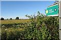 SP6528 : Footpath towards Preston Bissett by Philip Jeffrey