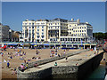 TQ3103 : Royal Albion Hotel, Brighton by Robin Webster