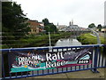 H4572 : Banner, Omagh Festival 2016 by Kenneth  Allen