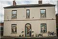 SJ7091 : Painted House Irlam by Brian Deegan